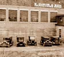 old building, old cars